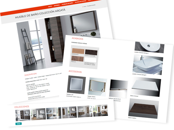 Ficha de Productos personalizada
